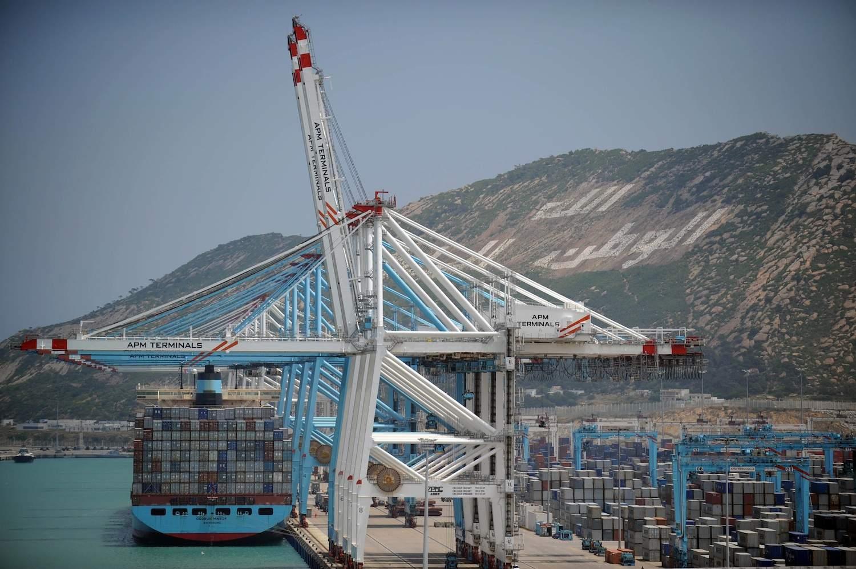 : Le rapport sur la compétitivité du monde arabe 2018 indique que le projet d'expansion de Tanger Med II devrait être achevé en 2019 triplera sa capacité et en fera l'un des plus grands ports de le monde. Ph. DR.