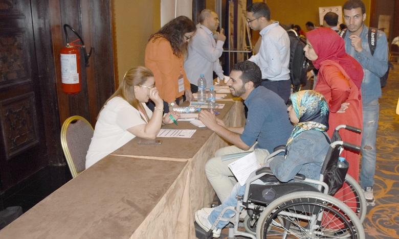 L'évènement se propose de mettre en relation les employeurs et les personnes en situation de handicap ou à mobilité réduite. Ph. Seddik