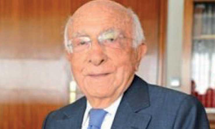 Joseph Barzilai, président de la Société fiduciaire du Maroctire sa  révérence