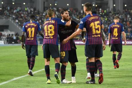 Le FC Barcelone remporte la Supercoupe d'Espagne à Tanger