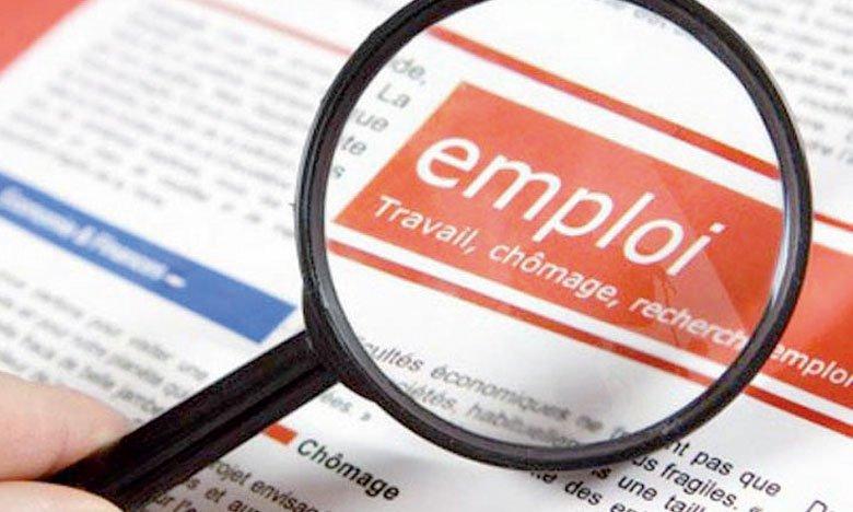 Baisse du taux d'emploi de -0,1 point