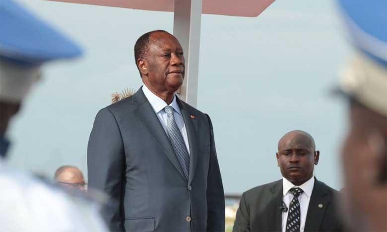 «Dans cette Côte d'Ivoire où est si vive la conscience de la responsabilité de génération en génération, la fierté veut que chacun de nous laisse à la génération future davantage qu'il n'a reçu», a dit le Chef de l'État ivoirien.                                                                                                                                                                Ph. DR
