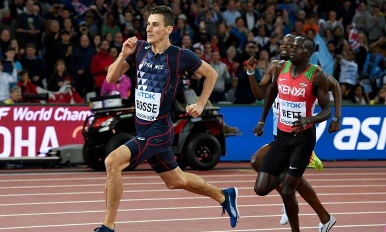 Kipyegon Bett , 3e du 800 m des Mondiaux-2017 à Londres. Le Kényan a été suspendu à titre provisoire pour avoir omis ou refusé de soumettre des échantillons dans le cadre de la lutte antidopage. Ph : AFP