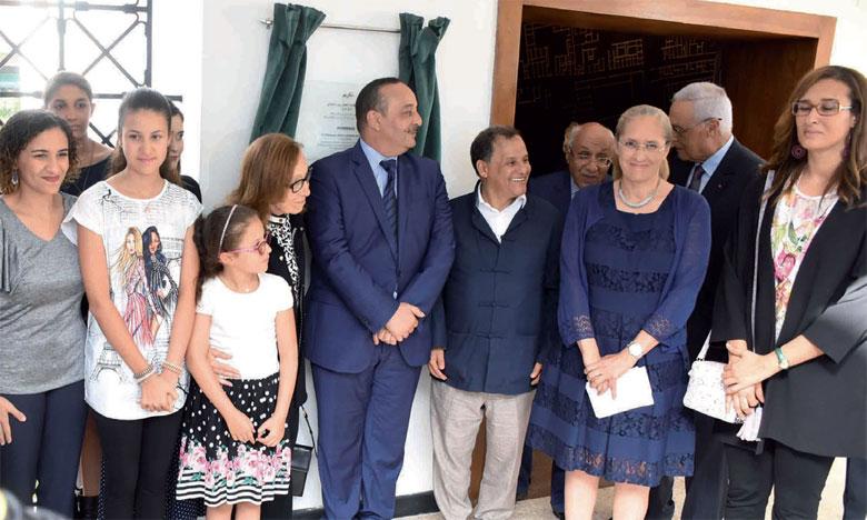 Une grande salle d'exposition au sein du Musée de l'Histoire et des civilisations à Rabat porte désormais le nom de Joudia Hassar-Benslimane. Ph. Saouri