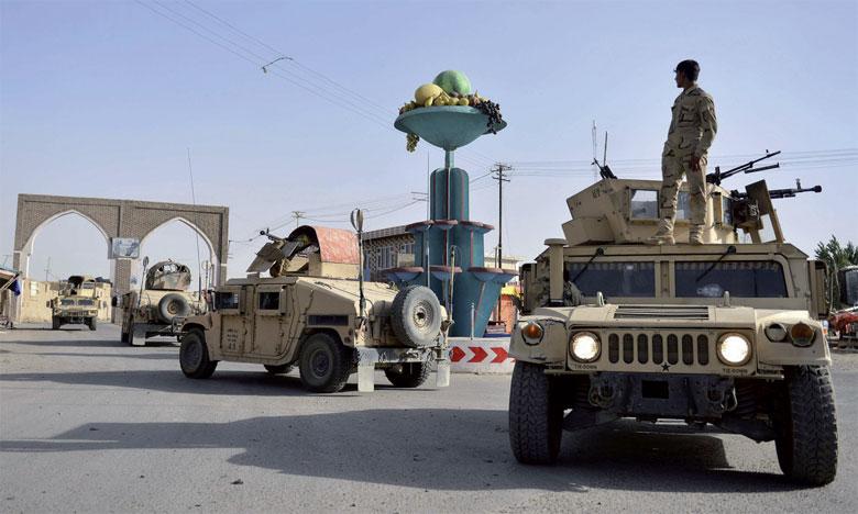 Les autorités affirment que la ville de Ghazni demeure entre les mains des forces afghanes, qui y mènent  des opérations pour en chasser les rebelles.                                                                                                                                               Ph. DR