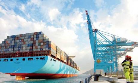 Tanger Med, 1er port  à conteneurs en Afrique