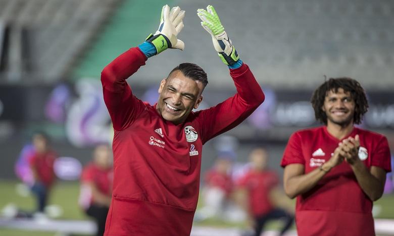 Essam El-Hadary a été le joueur le plus vieux de l'histoire à disputer une Coupe du monde. Ph. AFP