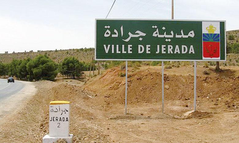 Plusieurs projets sont programmés pour la province de Jerada notamment la modernisation de l'irrigation, le développement des produits du terroir, l'aménagement des parcours et le développement de la race ovine et caprine.