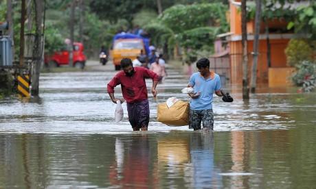 417 morts dans les inondations du Kerala