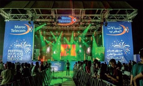 Le Festival des plages Maroc Telecom dresse son bilan