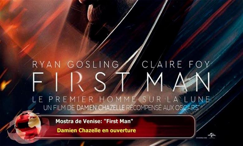 C'est l'un des films les plus attendus de cette année. «First Man» du réalisateur américain, Damien Chazelle, avec Ryan Gosling dans le rôle de l'astronaute Neil Armstrong, fera l'ouverture du Festival de Venise 2018. Ph : DR