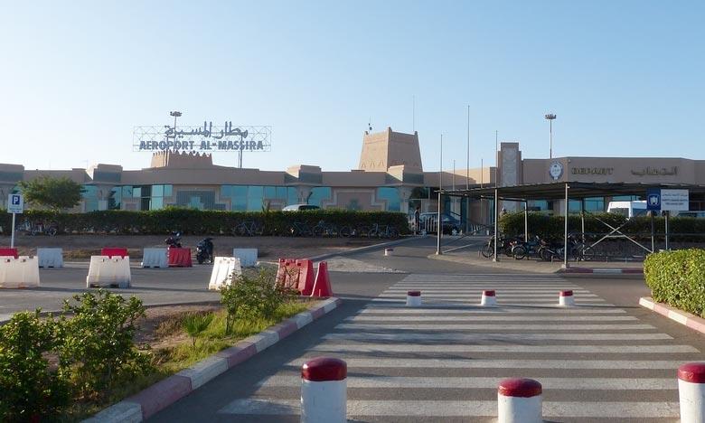 Selon les données publiées par l'ONDA, quelque 901.347 voyageurs ont transité par l'aéroport Agadir-Al Massira contre 612.701 durant le premier semestre 2017. Ph : DR