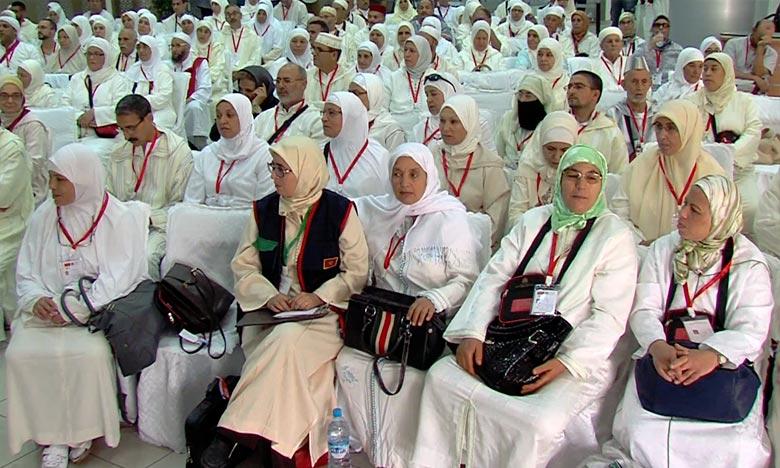 Premiers vols retour des pèlerins marocains
