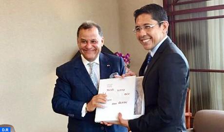 Un consulat honoraire de Singapour au Maroc