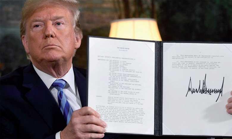 Donald trump lance un avertissement à l'Iran tout en se disant ouvert à un accord plus global.