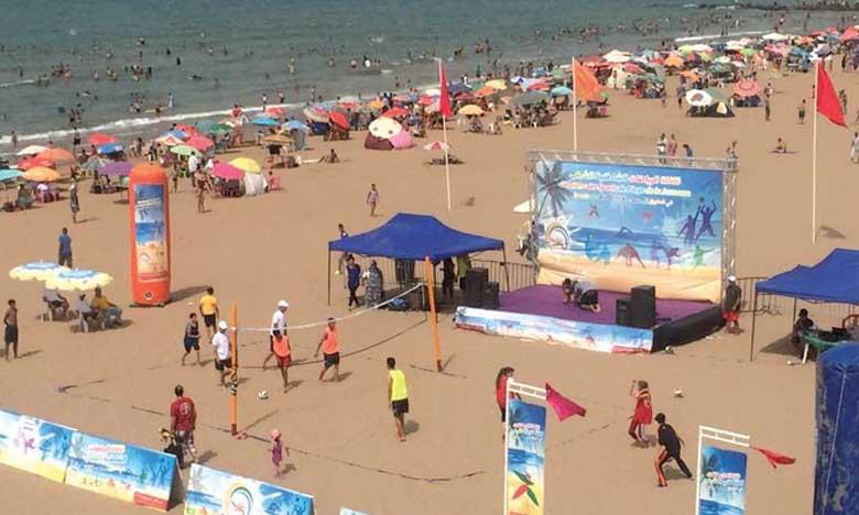 Plusieurs jeunes sportifs issus de diverses régions du Maroc ont pris part à cet événement.