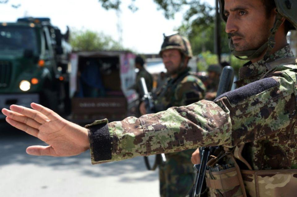 L'armée afghane s'est déployée en urgence, le 1er août 2018, à Jalalabad après une série d'attentats. Ph. AFP