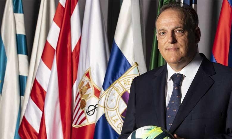 Javier Tebas, président de La Liga