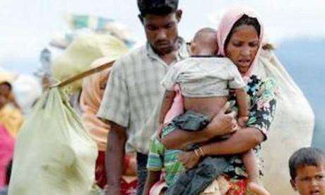 Un an après leur exode massif de  Birmanie, leur avenir reste très sombre