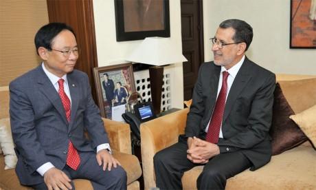 Le Maroc déterminé à renforcer les relations de coopération avec la République de Corée dans divers domaines