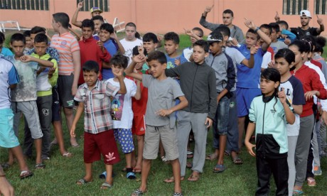 Moltaka B'ladi inculque la citoyenneté dans le cadre de sa colonie de vacances