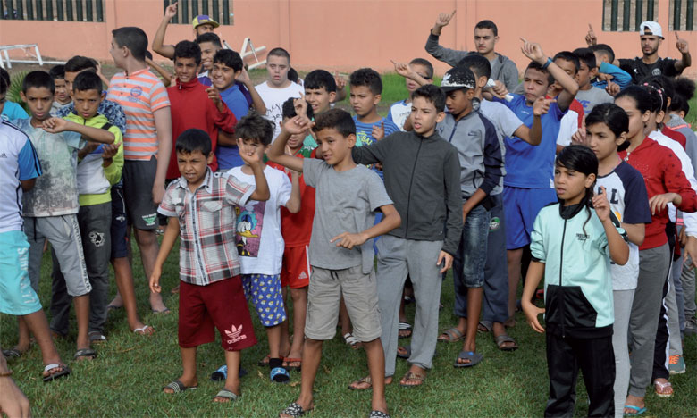 Cette initiative vise particulièrement à inculquer l'esprit de la citoyenneté aux enfants bénéficiaires de ladite colonie».