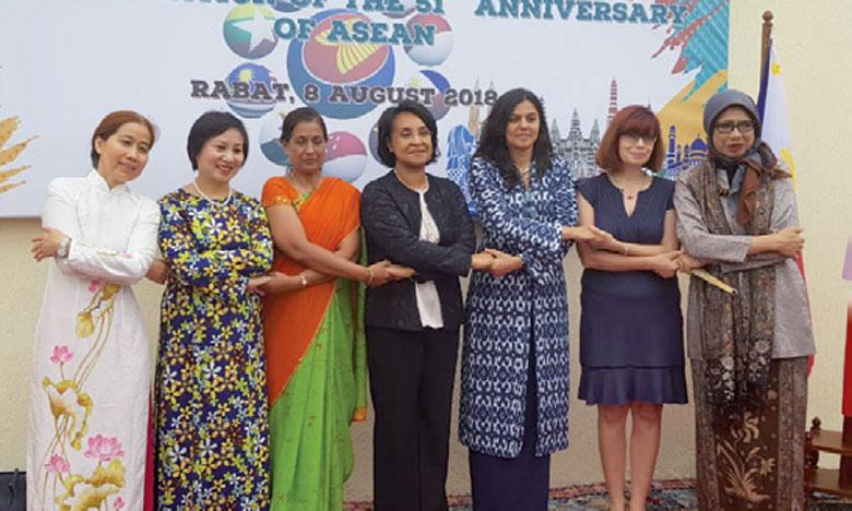Créée en 1967 en Thaïlande, l'ASEAN compte dix États membres.