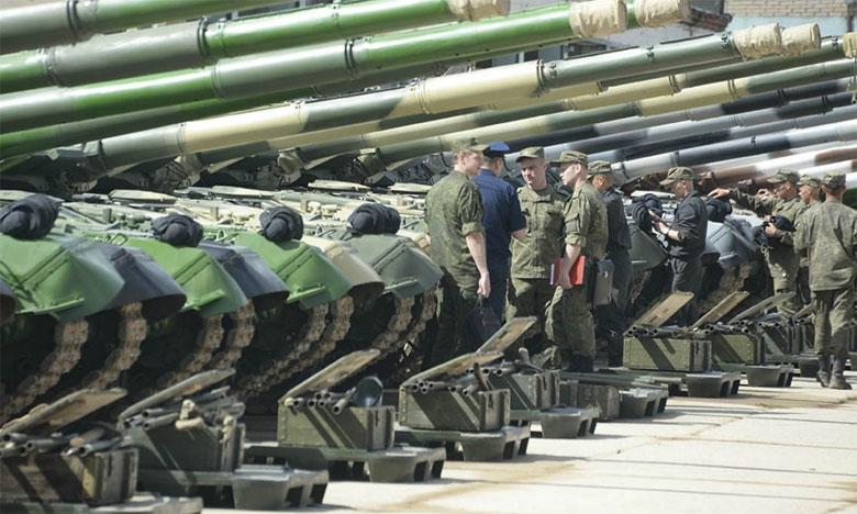 L'armée organisera en septembre ses plus grandes manœuvres depuis la Guerre froide