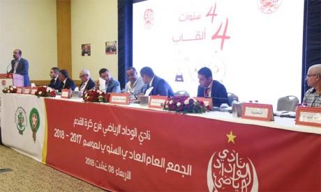 114 millions de DH de recettes pour le Wydad de Casablanca en 2017-2018