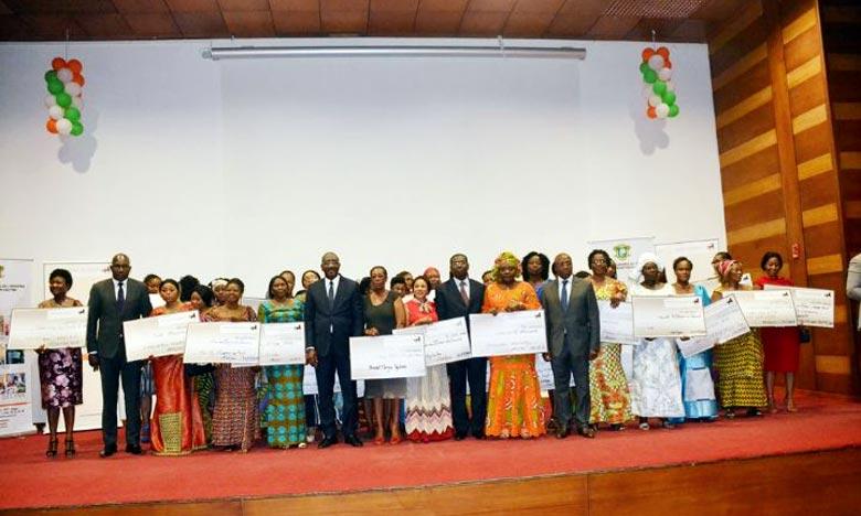Les nouveaux crédits accordés par Banque Atlantique pour appuyer la croissance des 45 entreprises dirigées par des femmes s'élèvent à plus de 700 millions de FCFA. Ph : MAP