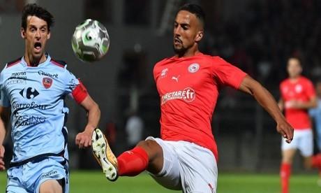 Rachid Alioui forfait jusqu'à début 2019