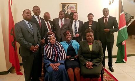 Maroc et le Kenya créent leur première commission parlementaire mixte