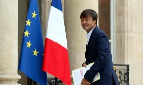 «Je prends la décision de quitter le gouvernement», a déclaré Nicolas Hulot, ministre français de la Transition écologique. Ph : AFP