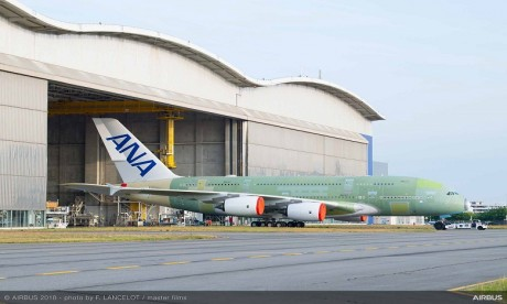 All Nippon Airways recevra bientôt son premier A380