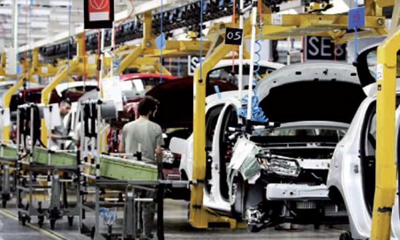 La part du secteur automobile dans le total des exportations a augmenté de 1,6 point au terme du premier semestre pour ressortir à 25,6%.