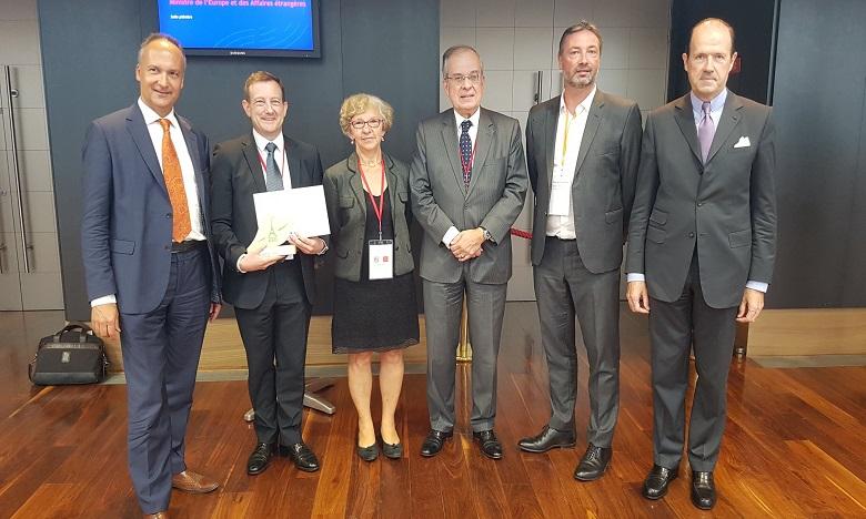 L'ambassade a obtenu le «Prix du jury» pour les jardins durables réalisés par l'ambassade de France à Rabat ainsi que les consulats généraux de France à Casablanca et à Agadir. Ph. DR