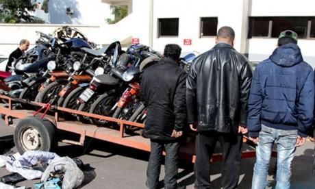 Trafic de motos volées  : Trois suspects appréhendés à Errachidia