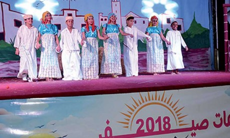 Clôture de la colonie de vacances de la Fondation Mohammedia des œuvres sociales des magistrats