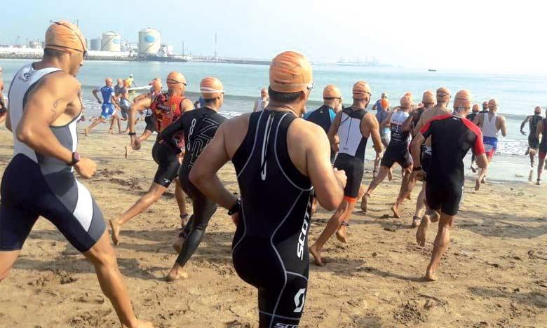 120 triathloniens ont participé à l'étape de Mohammedia.