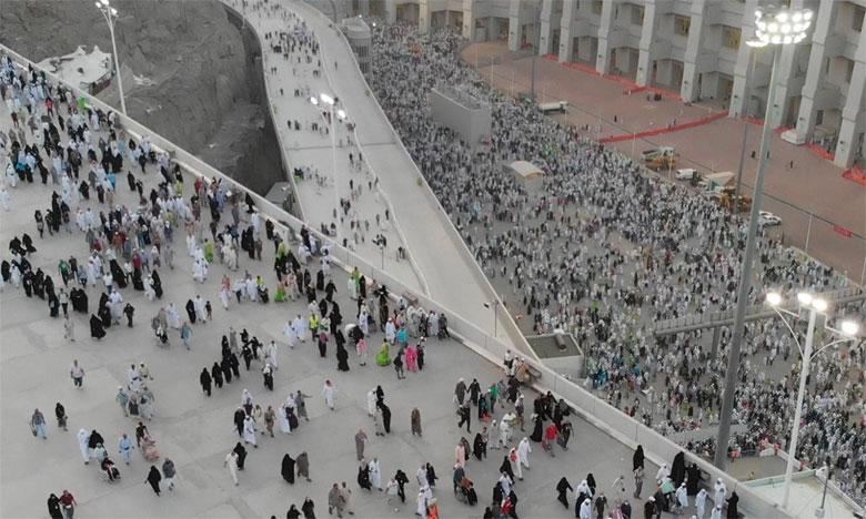 L'Établissement des Moutawifs des pèlerins des pays arabes exprime sa parfaite compréhension quant aux souffrances subies par les pèlerins marocains à Mina, Arafat et Mouzdalifa