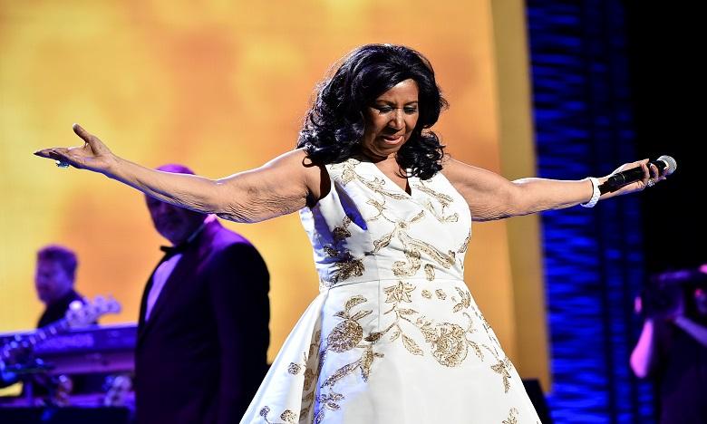 Aretha Franklin a remporté 18 Grammy Awards et été nommée à 44 reprises. Ph. AFP