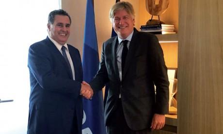 Aziz Akhannouch rencontre le secrétaire général du PPE