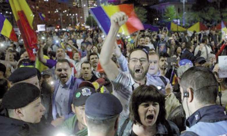 Nouvelles manifestations contre le gouvernement