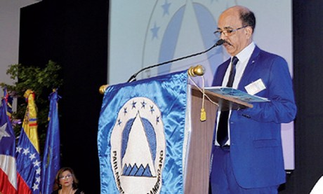 Les réformes politiques menées par le Maroc exposées devant les parlementaires du Parlacen