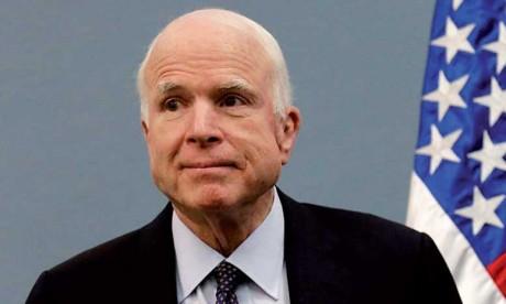 Décès du sénateur John McCain à l'âge de 81 ans