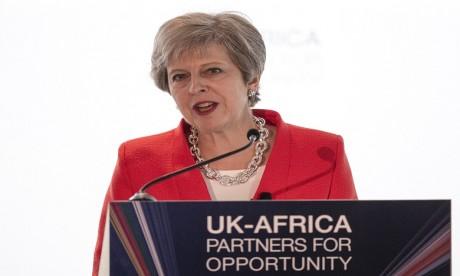 Theresa May a annoncé une réunion pour l'investissement en Afrique pour l'année prochaine à Londres. Ph. AFP