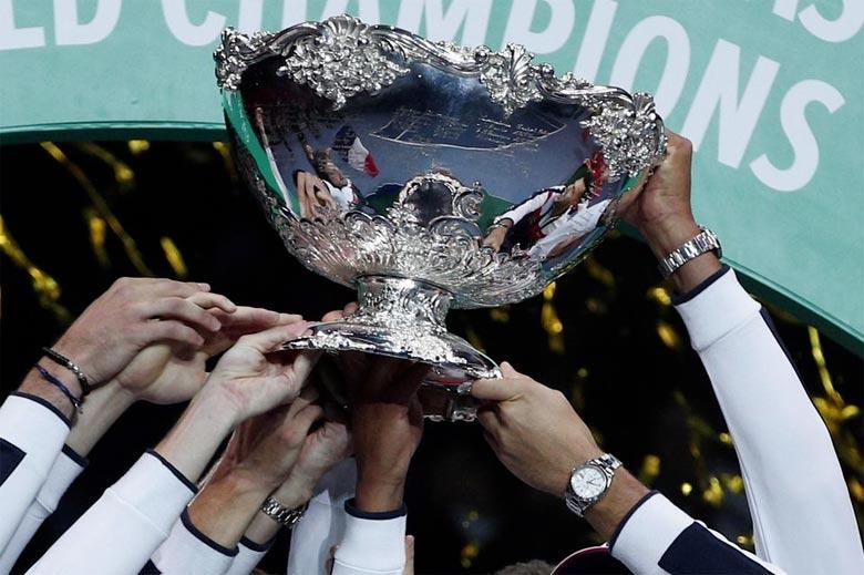 Le projet de réforme de la Coupe Davis prévoit de remplacer l'habituelle compétition étalée sur quatre weekends de trois jours, par une phase finale raccourcie regroupant 18 équipes, disputée sur une semaine en novembre.  Ph : DR