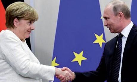 Poutine en Allemagne le 18 août pour une rencontre avec Merkel