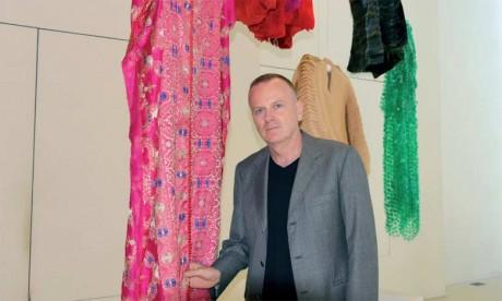 Le Maroc au cœur d'un voyage artistique du grand couturier  franco-italien Maurizio Galante