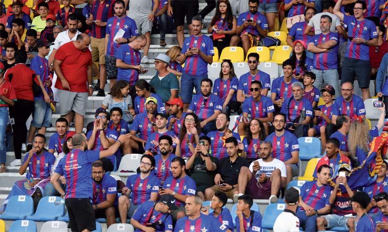 Douze «penyas» blaugrana ont accueilli le Barça à Tanger